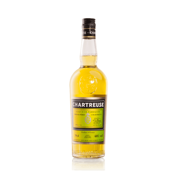 Chartreuse gul 70 cl.