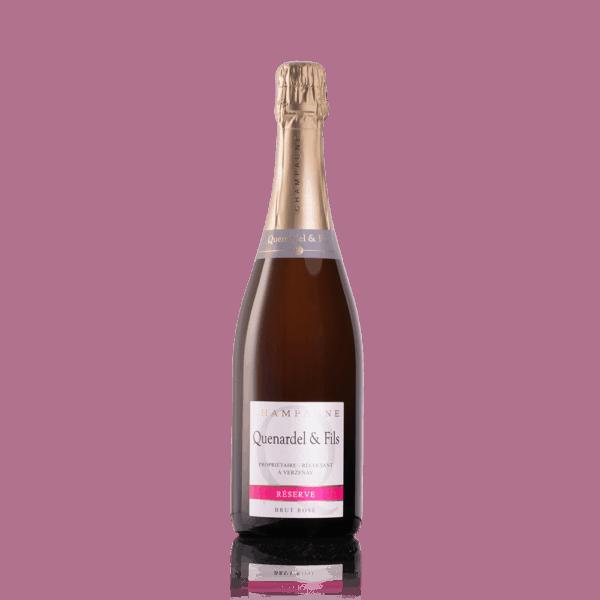 Quenardel Champagne, Rose