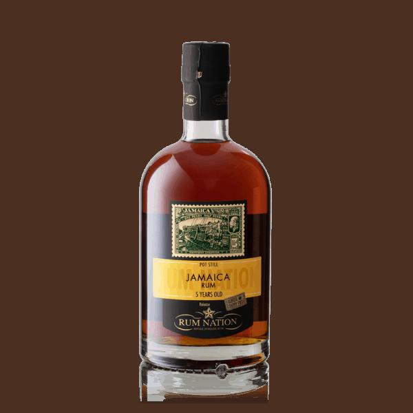 Rum Nation Jamaica 5 års Pot Still Sherry Finish 50%