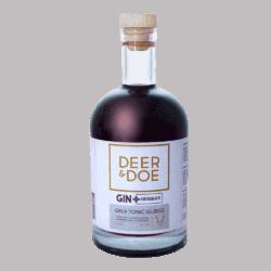 """Deer & Doe, """"Gin+Kirsebær"""" Gin & Tonic Gløgg"""