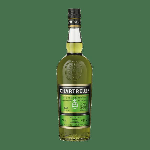 Chartreuse grøn 70 cl.