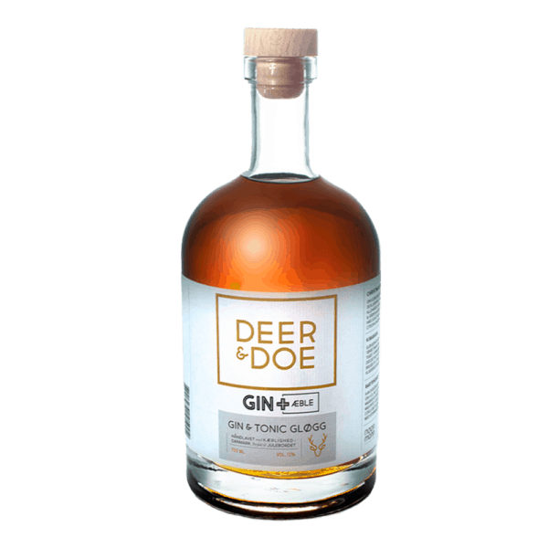 "Ny Nordisk Deer & Doe, ""Gin+Æble"" Gin & Tonic Gløgg"