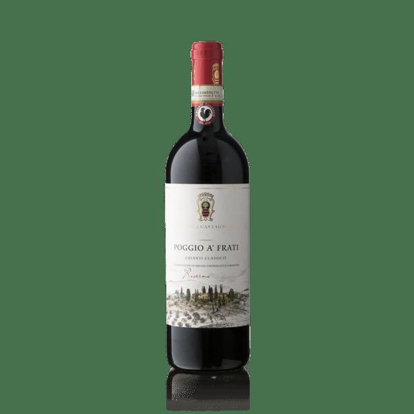 """Rocca di Castagnoli Chianti Classico Riserva """"Poggio a' Frati"""" 2016"""