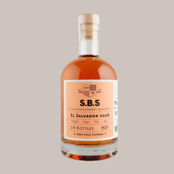 S.B.S. Single Barrel Selection El Salvador 12 års 2008