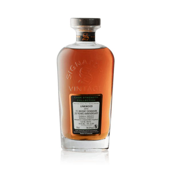"Signatory Linkwood ""FC Whisky 20 års Jubilæum"" 2010"