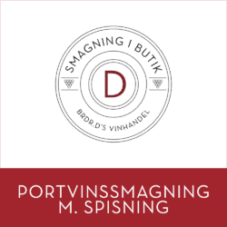Portvinssmagning m. spisning - Silkeborg 11. november 2021