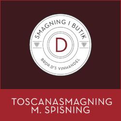 Toscanasmagning m. spisning - Silkeborg 30. september 2021